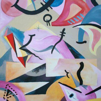 cuadro-abstracto-Mountain